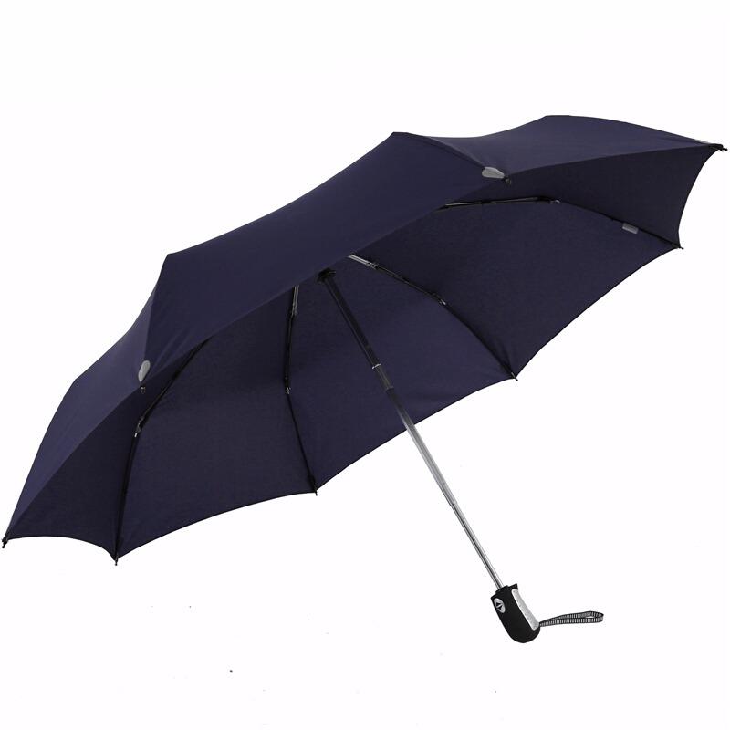 单手可操控 自开收雨伞 一甩干伞面