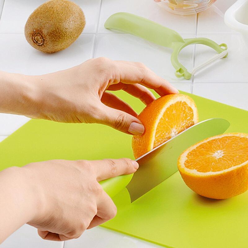 进口原料PE砧板侧把手方便悬挂 塑料板案板菜墩